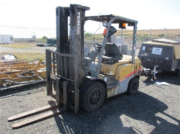 2010 TCM FD30T3 4 Wheel Counterbalance Forklift