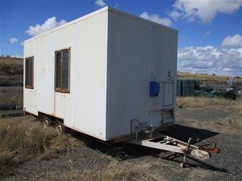 Qty 1x Mobile Crib Hut