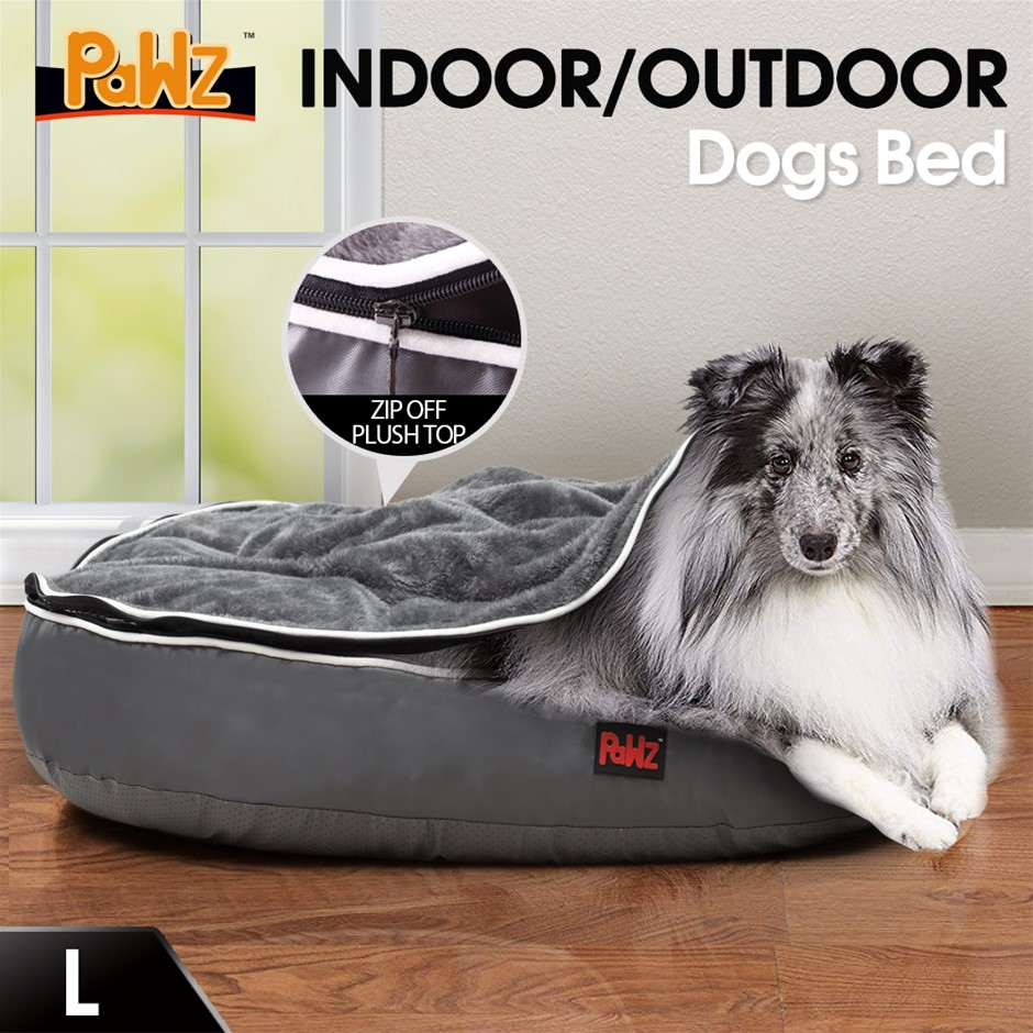 PaWz Heavy Duty Pet Bed Mattress Dog Cat Pad Mat Soft Cushion Winter Warm L