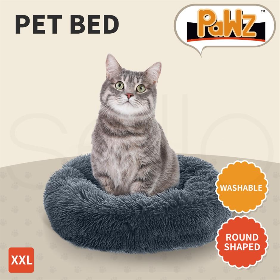 PaWz Pet Bed Dog Beds Mattress Bedding Cat Pad Mat Cushion Winter XXL Dark