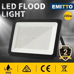 Emitto LED Flood Light 200W Outdoor Floo