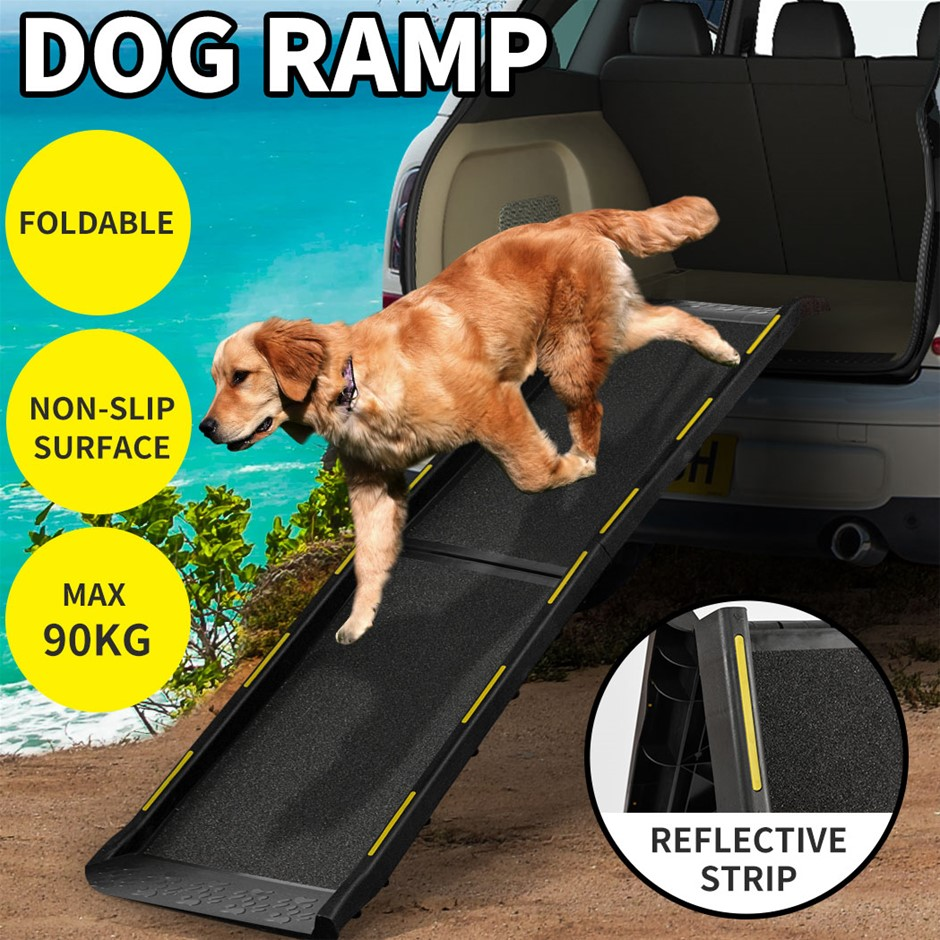 Pet Stairs Dog Ramp Ramps Foldable Ladder Steps Stair Portable Car Step