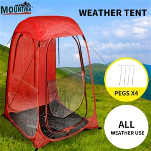 2x Mountview Pop Up Tent Camping Weather