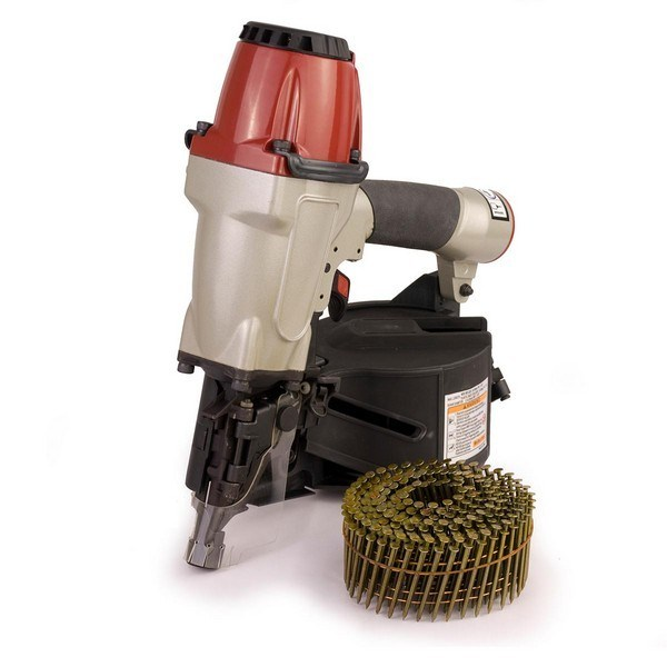 Industrial Grade Coil Gun Nailer Air Tools 32-65mm