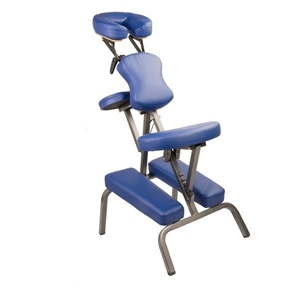 Portable Tatto Massage Chair Table Blue