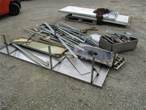 Pallet of Assorted Steel Frames