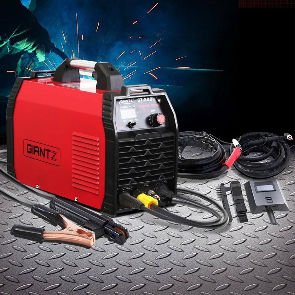 Giantz 220Amp Inverter Welder Plasma Cutter TIG iGBT DC Welding Machine