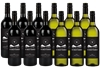 By The Vineyard Mixed Pack Cabernet Sauv & Pinot Grigio (12x 750mL). SEA.