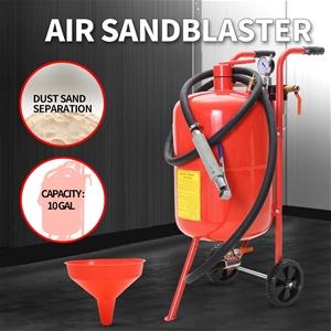 Sandblaster Air Sand Blaster 10 Gallon P