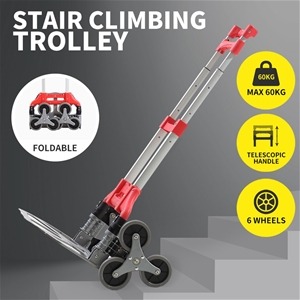 60KG Stair Climbing Trolley Climb Steps