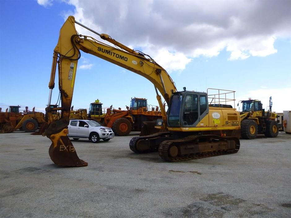 2008 Sumitomo SH290-5 Steel Tracked Excavator (EX1013)