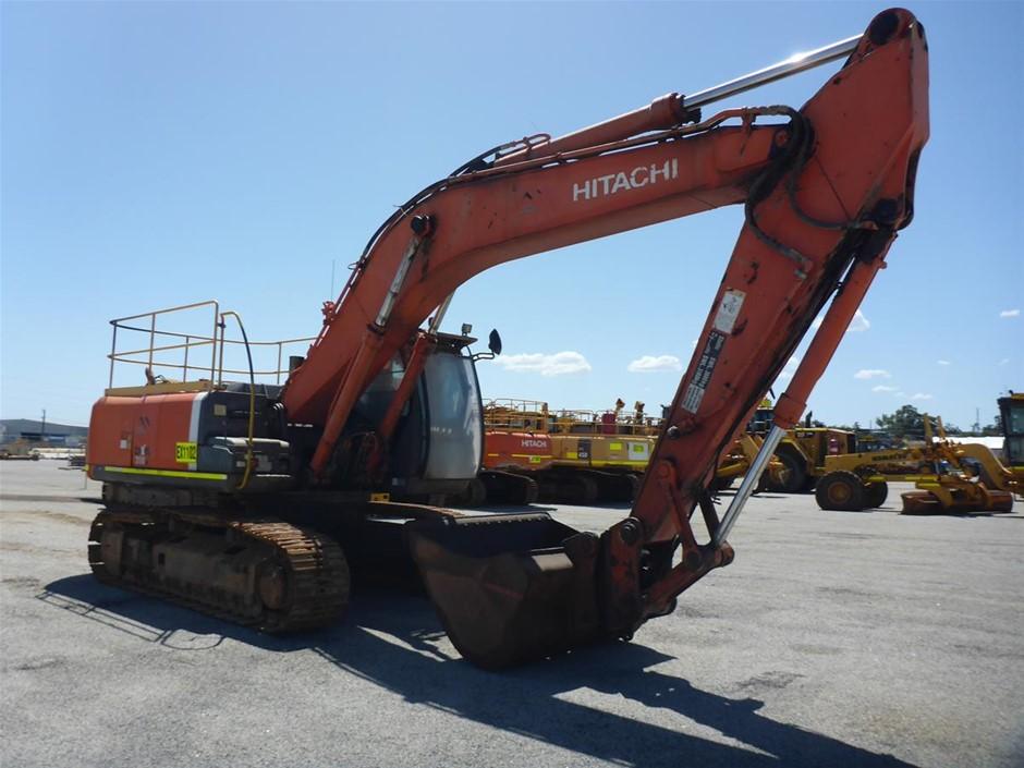 2008 Hitachi ZX350H-3 Steel Tracked Excavator (EX1102)