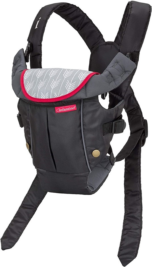 INFANTINO Swift Classic Carrier, 2 Ways to Carry: Front and Back. (SN:B076D