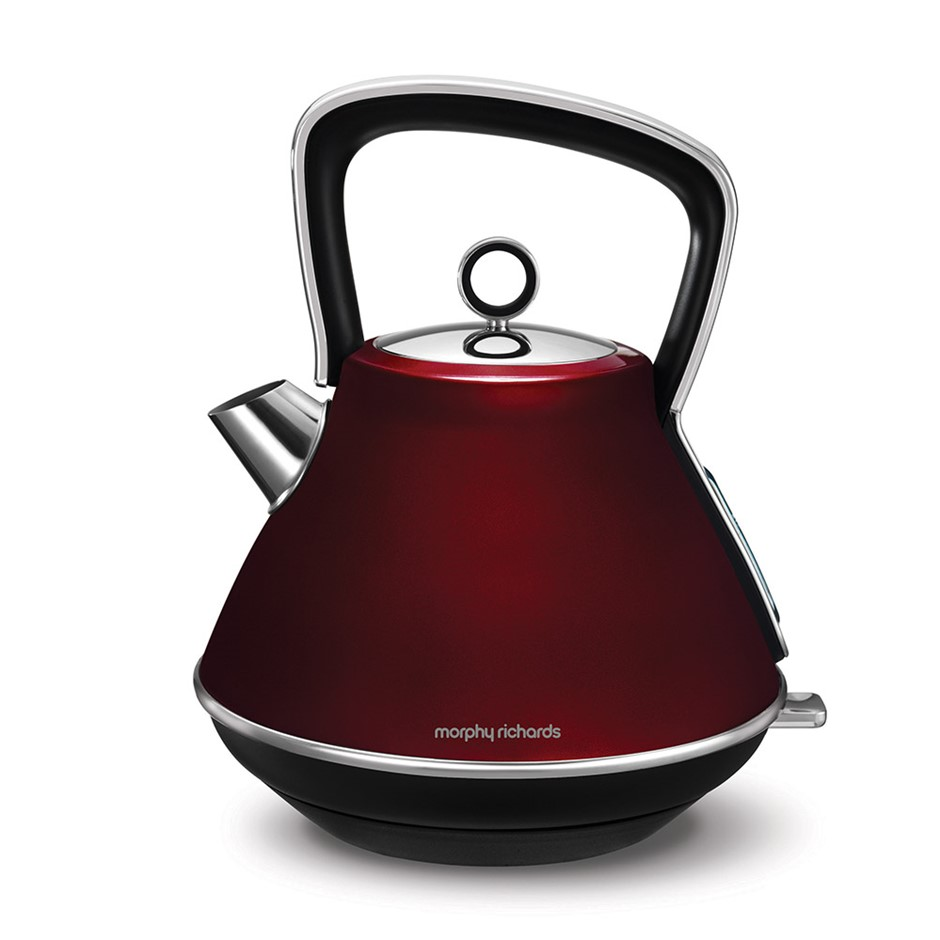 Morphy Richards 2200W Evoke 1.5L Pyramid Stainless Steel Electric Kettle