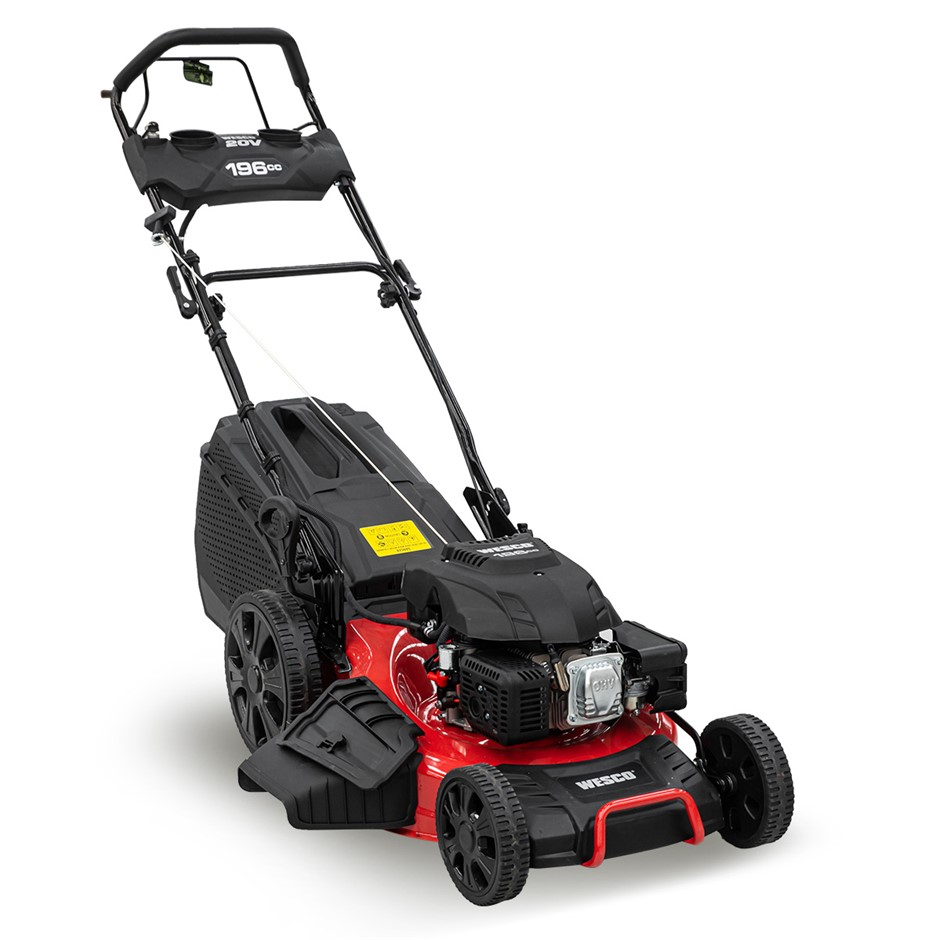Wesco 196cc Self Propelled Lawn Mower with Electric Start