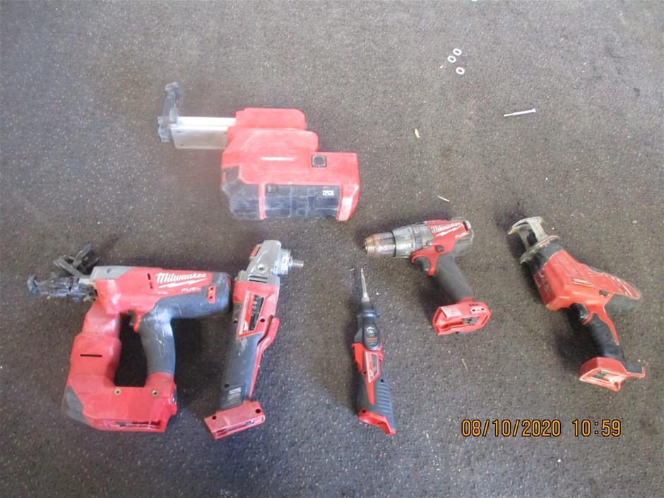 Qty 6 x Milwaukee Tools/Items
