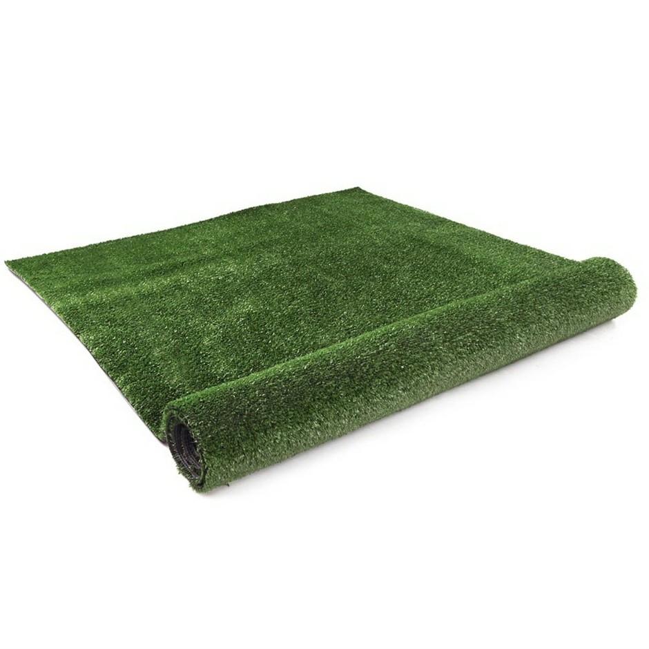 Primeturf Synthetic 10mm 1.9mx5m 9.5sqm Artificial Grass Olive Plastic Lawn