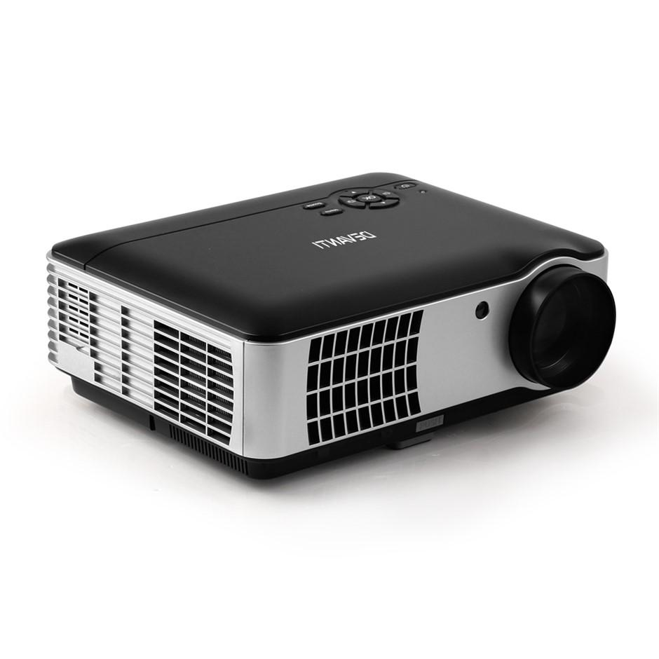 Devanti Mini Video Projector WiFi Bluetooth HD 1080P 2800 Lumens Home
