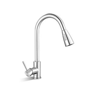 Cefito Pull-out Mixer Tap - Silver