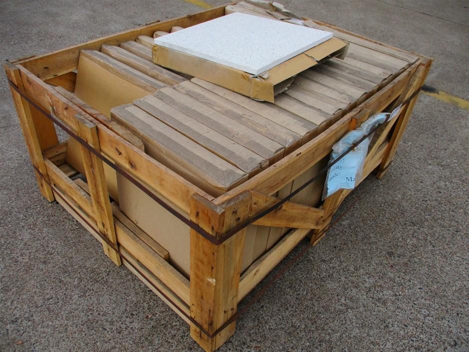 Pallet of 15.3m² Stone Floor Tiles