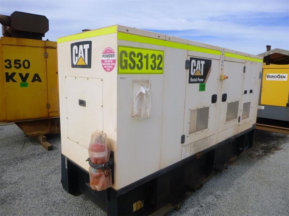 2014 Olympian XQE150-2 Silenced Enclosed Generator