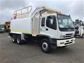 Unreserved 2007 Isuzu FVZ 1400 6 x 4 Water Truck