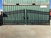 2020 Set of 2 Unused Wrought Iron Style Gates