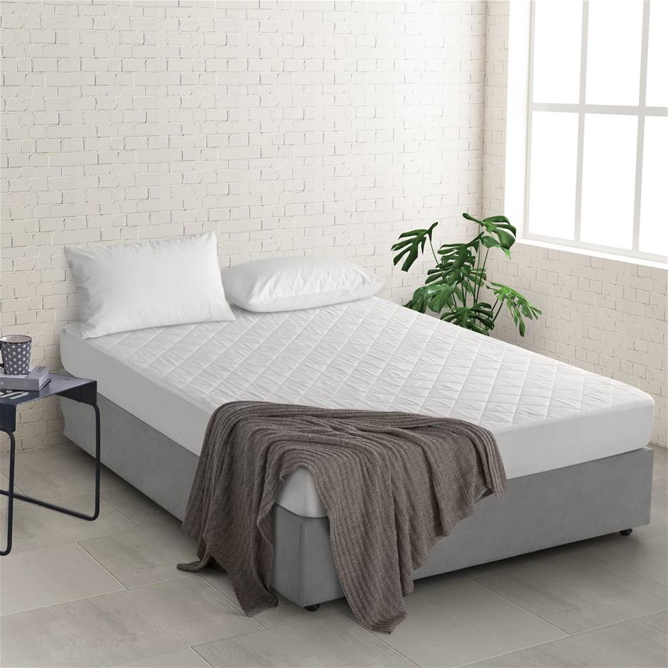 Natural Home Bamboo Mattress Protector King Single Bed