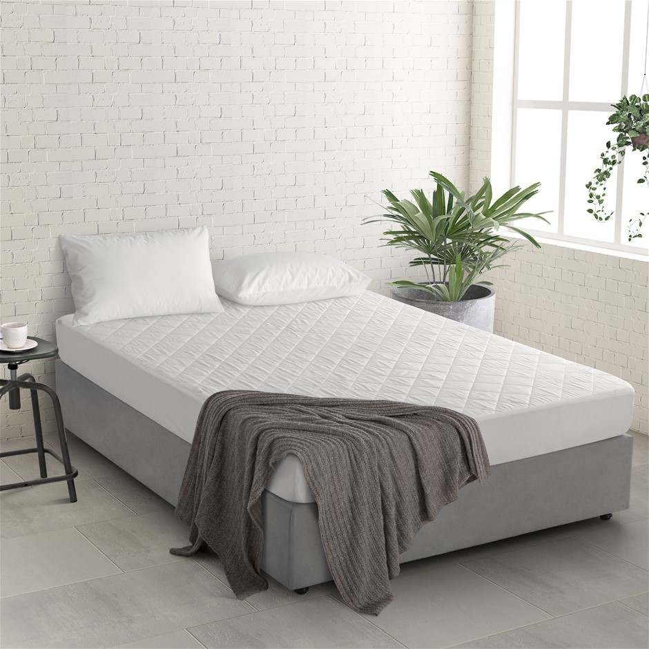 Natural Home Tencel Mattress Protector King Single Bed