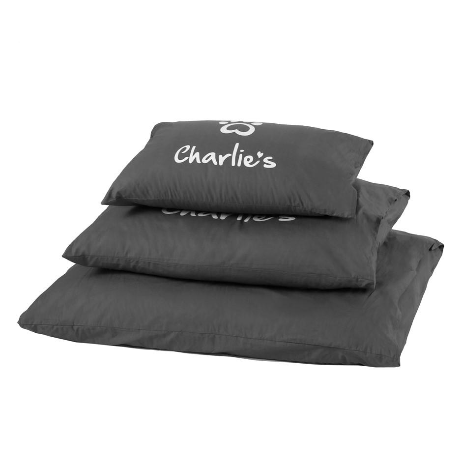 Charlie's Pet Pillowcase Charcoal - Large (115 x 90 cm)