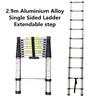 2.9m Aluminium Alloy Single Sided Ladder Extendable step  (Pooraka, SA)