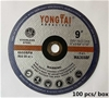 Qty 100 x Yongtai 230mm Cutting Discs (Pooraka, SA)