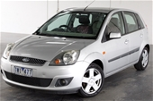 Unreserved 2006 Ford Fiesta Ghia WQ Automatic Hatchback