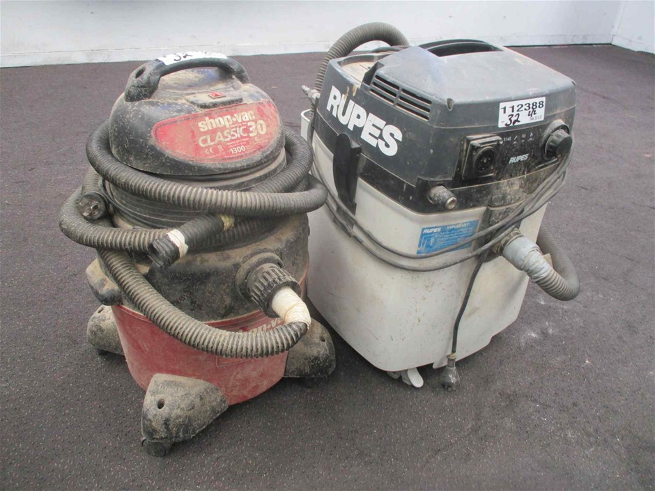 Qty 2 x Vacuum Cleaners Various