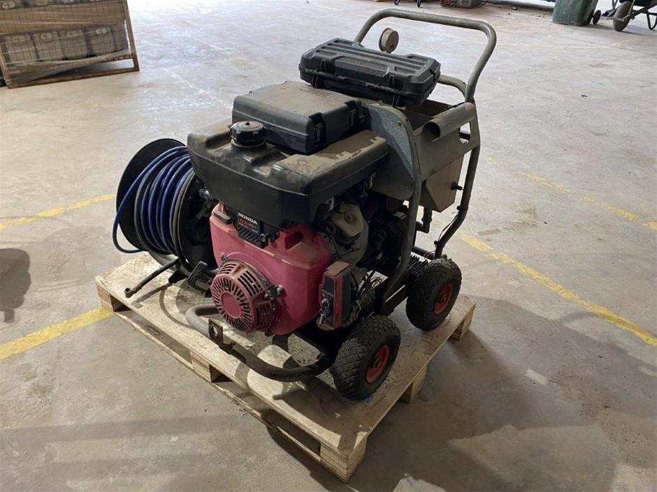 Honda Powered Pipe Cleaning Machine