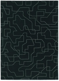 Estella 85105 Large Black Handmade High Quality Wool Rug-280X200cm