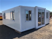 Unreserved Unused 2020 Expandable 20ft Container House