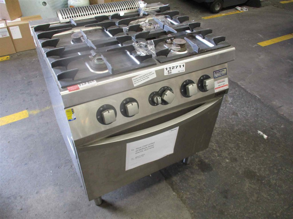 Stainless Steel Zanussi 4 Burner Oven (Non Gas Compliant)