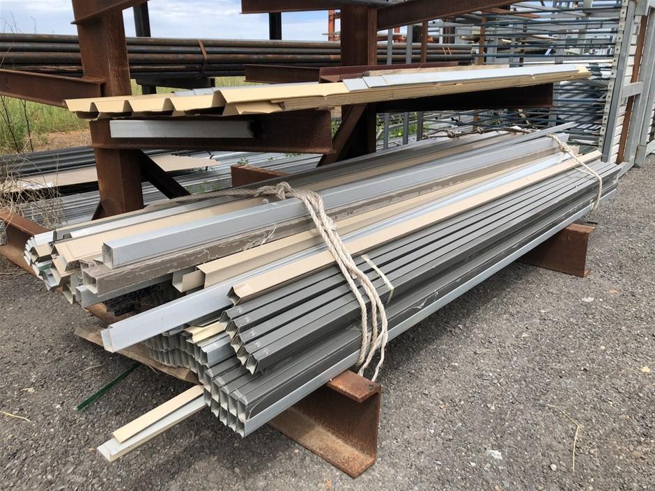 "Steel Sheeting, ""C"" Channel & Aluminium Rails"