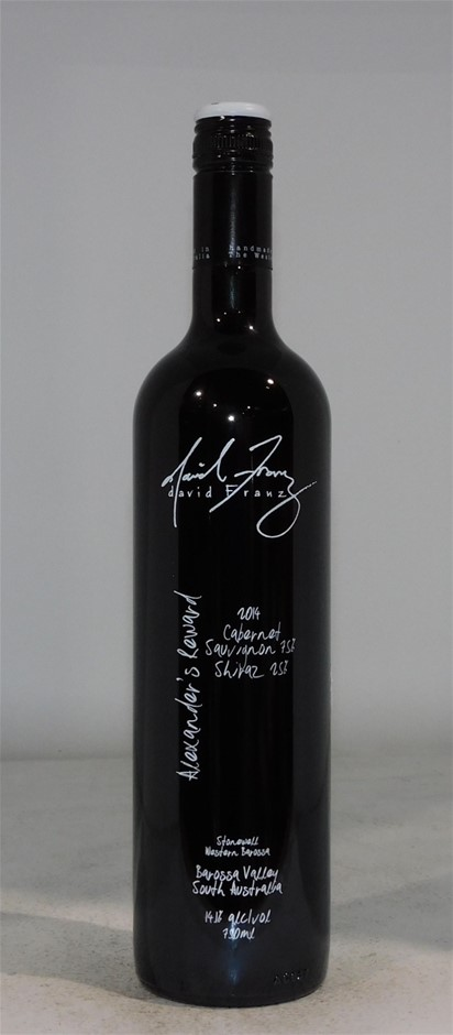 David Franz Alexander`s Reward Cabernet Sauvignon Shiraz 2014 (6x 750mL)
