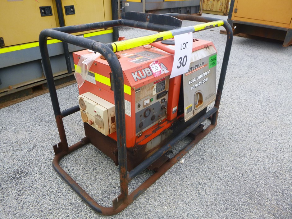 Kubota Lowboy 2 GL6000 KVA Skid Mounted Generator