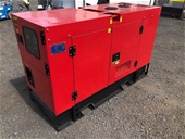 2020 Unused 25kVA Generators - Brisbane