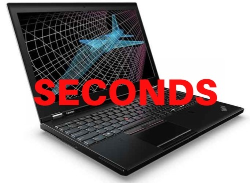 Lenovo ThinkPad P51 15.6-inch Notebook, Black