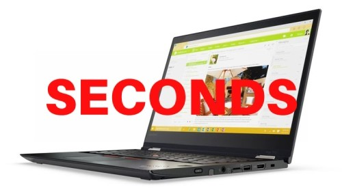 Lenovo ThinkPad Yoga 370 Notebook, Black