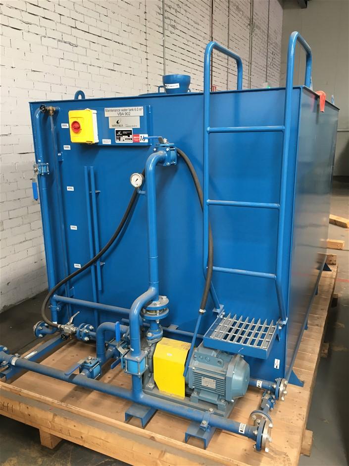 Wartsila Maintenance Water Tank and Pump Unit.