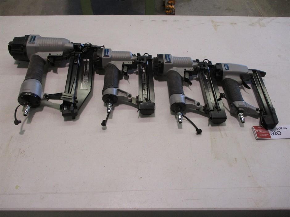 Qty 4 x Nail / Staple Guns
