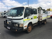 Unreserved 2009 Hino 300 Wide 816 4x2 Tray Body Truck