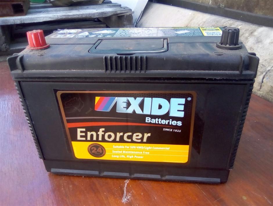 New Exide N7022 Truck Battery