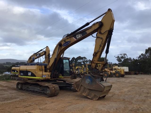 2007 Caterpillar 324L Hydraulic Excavator (See Grays Note)