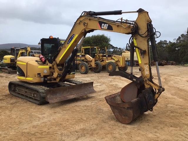 2011 Caterpillar 308DCR Hydraulic Excavator